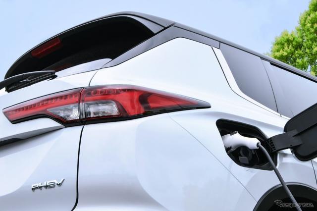 三菱 アウトランダーPHEV 新型《photo by Mitsubishi Motors》