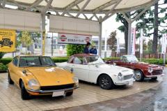 歴代のダットサンが集結…昭和平成なつかしオールドカー展示会