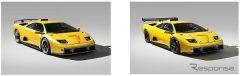 左:1999 ランボルギーニ ディアブロ GT/右:1999 ランボルギーニ ディアブロ GTR《写真提供 BH AUCTION HOUSE》
