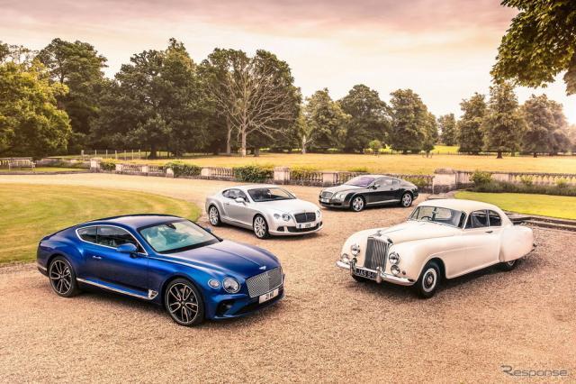 ベントレー・コンチネンタル の歴代モデル《photo by Bentley》