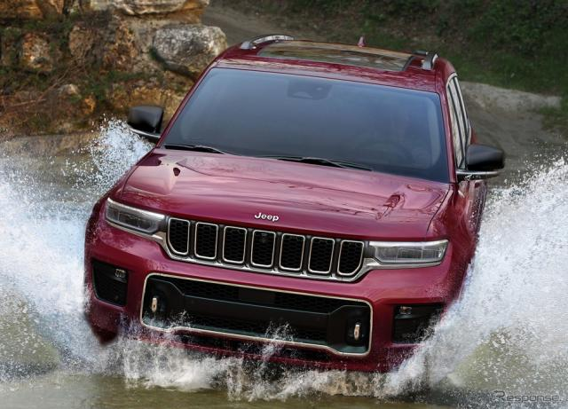 ジープ・グランドチェロキー L 新型(参考)《photo by Jeep》