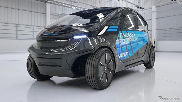 帝人と豪Applied EV社が共同開発したLS-EVのプロトタイプ(参考画像)《写真提供 帝人》