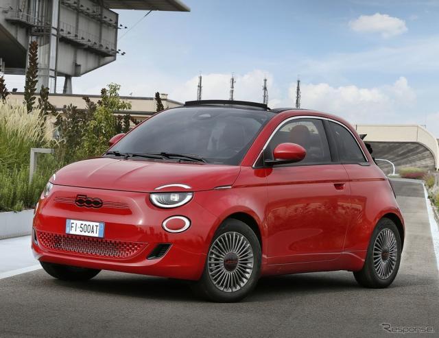 フィアット 500 RED《photo by Fiat》