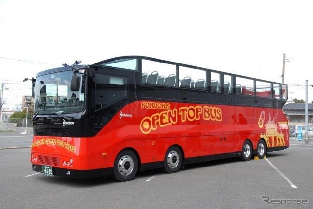 オープントップバス《写真提供 にしてつグループ》