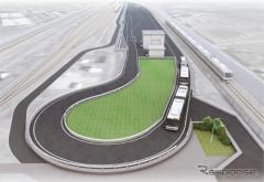 「自動運転・隊列走行・バス高速輸送」の実証実験…JR西とソフトバンク