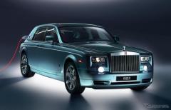 ロールスロイス、新型電気自動車発表へ…9月29日