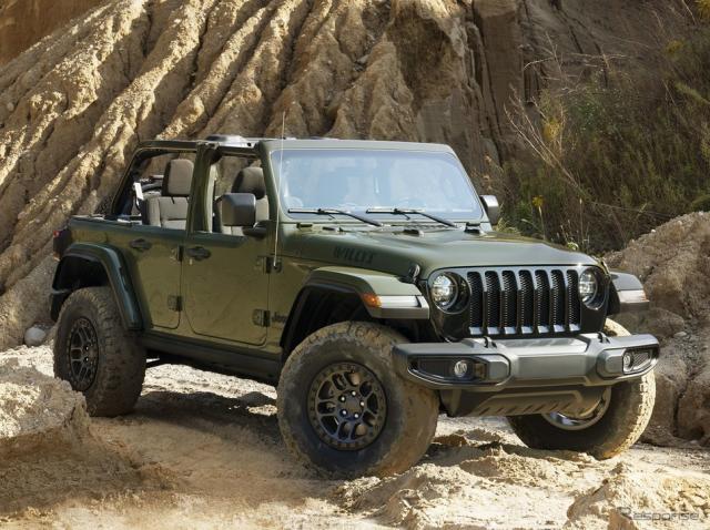 ジープ・ラングラー・ウィリス の「エクストリーム・リーコン・パッケージ」《photo by Jeep》