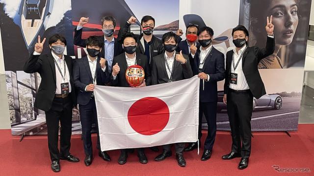 日本代表チーム《写真提供 アウディジャパン》