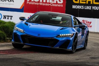 NSX最終モデルが、市販車最速タイムを記録…米市街地コース