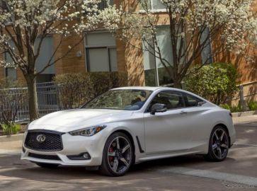 日産の海外向け高級車インフィニティ『Q60』…2022年型を米国発表