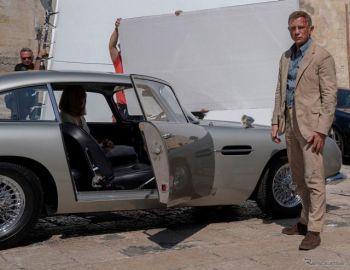 「007」最新作、ボンドカー「DB5」のスタントシーンの舞台裏公開