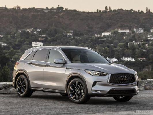 インフィニティ米販売、中型SUV『QX50』が16%増 1-9月期