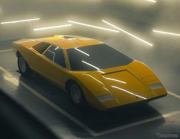 幻の『カウンタック』、「LP500」をランボルギーニが復刻生産…完成に約3年