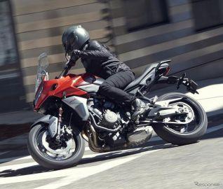 トライアンフ、新型オートバイ発表…3気筒エンジン搭載のオールラウンダー