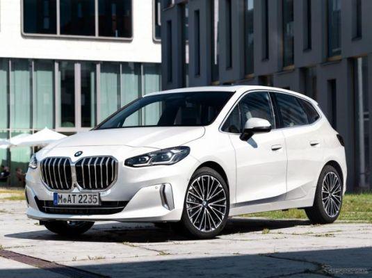 BMWの新型車、大型グリルで大胆に変身