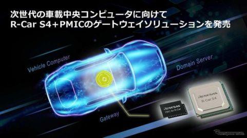 ルネサス、「R-Car S4」と「PMIC」を組み合わせた車載ゲートウェイソリューションを発表