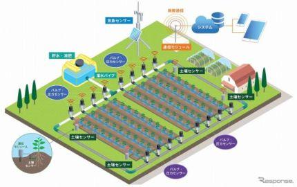 デンソー、自動車向けセンシング技術を農業分野で活用