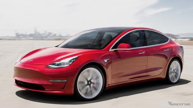 テスラ・モデル3《photo by Tesla》