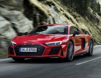 アウディ R8の後輪駆動車に高性能モデル、570馬力に強化…欧州発表