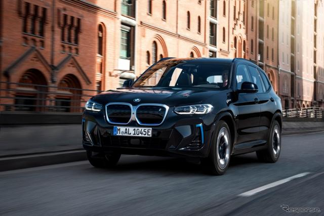 BMW iX3 改良新型《photo by BMW》