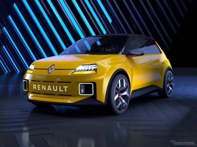 ルノー5(サンク)プロトタイプ《photo by Renault》