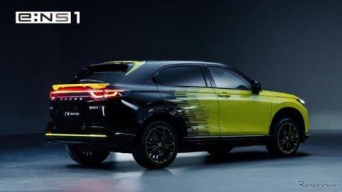 ホンダ、中国で2022年春にEV2車種発売…専用工場など電動化戦略を公表