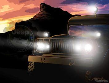 ジープがカスタムカー発表へ、電動 ラングラー など…北米展示会