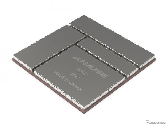 CEATEC 2021出展予定:C-V2X機能を搭載した5G対応通信モジュール《画像提供 アルプスアルパイン》