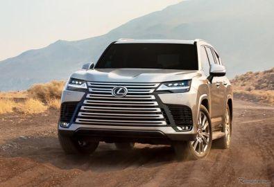レクサス版ランクル、最上位SUV『LX』新型発表…日本発売は2022年初頭に
