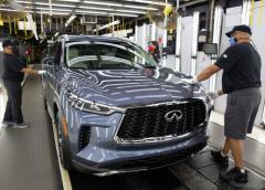 インフィニティ『QX60』新型、生産開始…日産の米工場で