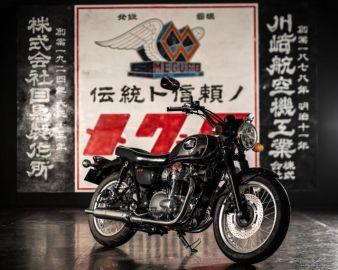 カワサキ メグロK3、名門ブランド復活 10月29日発売