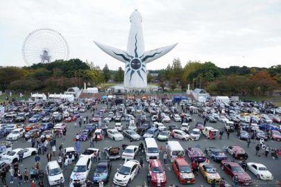 痛車400台が大阪・万博公園に集結、コスプレ撮影もOK…10月31日
