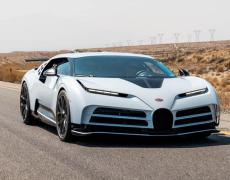 ブガッティの新型スーパーカー、気温45度で耐熱テスト