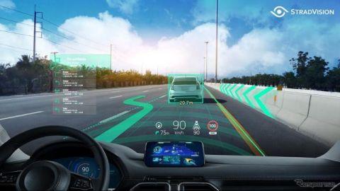 ストラドビジョン、LiDAR代替技術や拡張現実HUDなど発表へ…CEATEC 2021