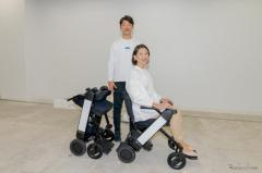 電動車イス WHILL に2番目のモデル…「歩きづらさを感じている」モデルF発表会