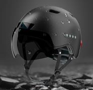 自転車用スマートヘルメット登場…ドラレコ&Bluetoothスピーカー内蔵