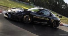 ポルシェが11月に新型車公開、718 ケイマン GT4 RSの可能性も