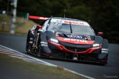 SUPER GT 第6戦予選、#16 NSX-GT が今季初ポール