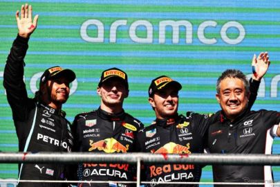 【F1 アメリカGP】レッドブル・ホンダのフェルスタッペンがポールトゥウィン…角田が9位入賞