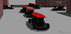 1/10ロボットカーで交通シミュレーション…ZMPが導入パッケージ発売