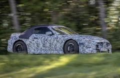 メルセデスAMG SL、ティザー…実車は10月28日発表予定[動画]