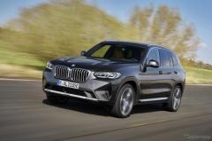 BMW X3/X4 改良新型発売、前後デザイン刷新…安全機能も進化