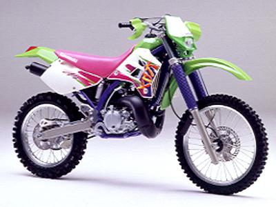 カワサキ KDX220Rの画像