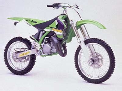 カワサキ KX125の画像