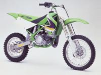 カワサキ KX80の画像