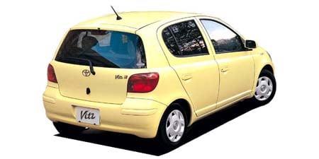トヨタ ヴィッツ F Lパッケージ (2003年8月モデル)