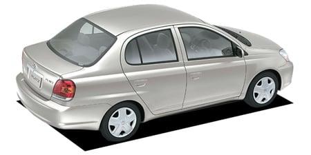 トヨタ プラッツ 1.0F (2003年8月モデル)
