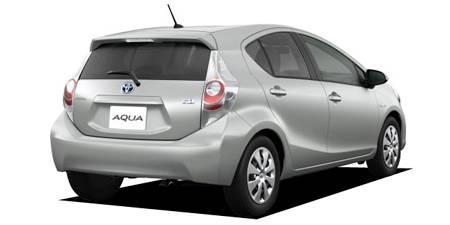 トヨタ アクア G (2011年12月モデル)