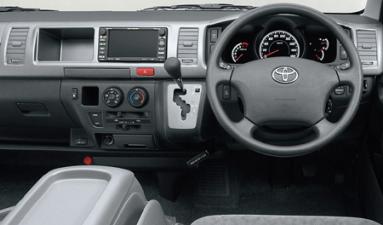 トヨタ ハイエースワゴン DX (2007年8月モデル)