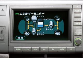 トヨタ エスティマハイブリッド X (2006年6月モデル)